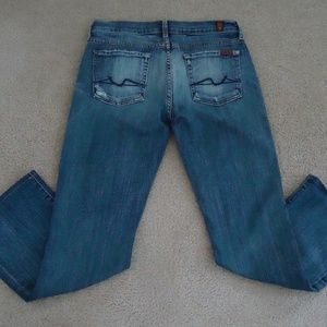 7 FOR ALL MANKIND Bootcut Jeans 30x28